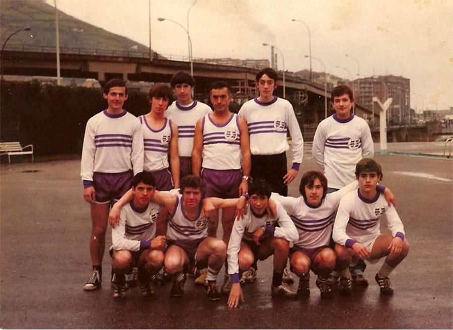 Foto de antiguos miembros del Club